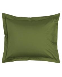 Essenza Kussensloop Satijn Katoen (moss) 60x70