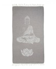 Seahorse Hamamdoek Buddha (anthracite)
