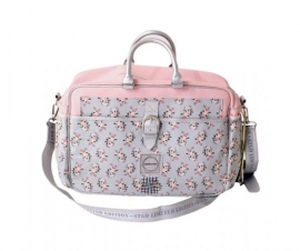 Stapelgoed Diaper Bag Flower (pink)
