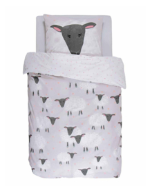 Covers & Co KIDS Dekbedovertrek Sheeps (grey) 140x200/220