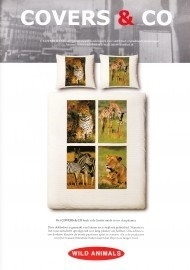 Covers & Co Dekbedovertrek Wild Animal (bruin) 240x200/220