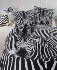 Papillon Dekbedovertrek Zita (zwart/wit) 240x200/220