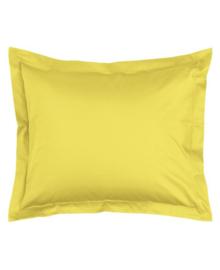 Essenza Kussensloop Satijn Katoen (mellow yellow) 60x70