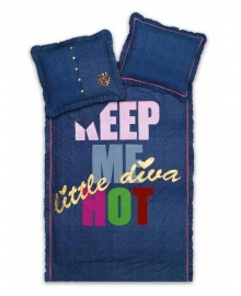 Little Diva Dekbedovertrek Keep Me Hot (jeans) 240x200/220