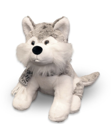 Unique Living Plush Husky (grey) 32 cm