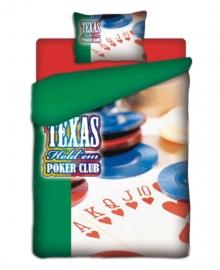 Dekbedovertrek Poker Club (multi) 140x200/220