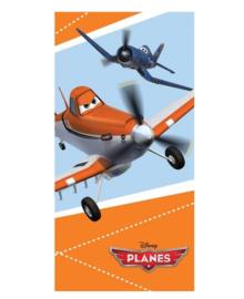 Planes Strandlaken Dusty en Skipper (oranje)