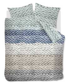 Ariadne at Home Dekbedovertrek Chunky (blue) 240x200/220