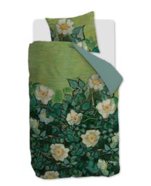 Beddinghouse Van Gogh Dekbedovertrek Wild Roses (green) 140x200/220