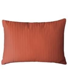 HnL Refined Kussensloop Satijn (mecca orange) 40x80