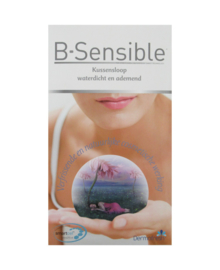 B-Sensible 2 in 1 Kussensloop + Kussenbeschermer (wit) 60x70