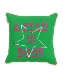 Little Diva Sierkussen Star (green) 45x45