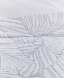 Oilily Dekbedovertrek Vibrant Leaves (light grey) 200x200/220