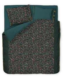 PiP Studio Dekbedovertrek Midnight Garden (green) 200x200/220