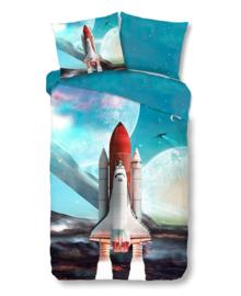 Good Morning Dekbedovertrek Spaceshuttle (multi) 140x200/220