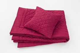 Essenza Bedsprei Diamond (rood)