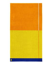 Seahorse Strandlaken Block (yellow)