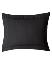 iSleep Kussensloop Satijnstreep (zwart) 60x70