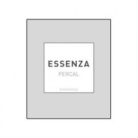 Essenza Kussensloop Perkal Katoen (silver) 60x70