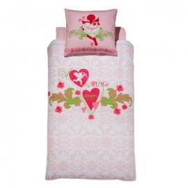 Damai Dekbedovertrek Angelheart (pink) 140x200