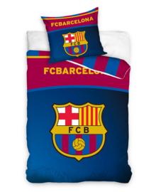FC Barcelona Dekbedovertrek FCB Club Logo (blue/red) 140x200
