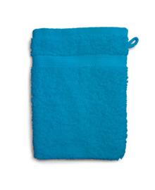 Twentse Damast Washandje Uni (turquoise)