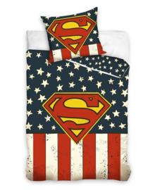 Superman Dekbedovertrek USA (multi) 140x200