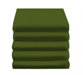 Hoeslaken Satijn Katoen (green)