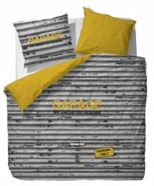Covers & Co Dekbedovertrek Garage (yellow) 240x200/220