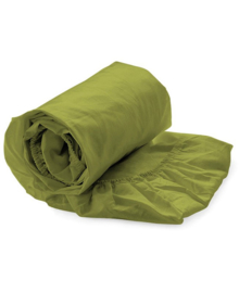 HNL Royal Cotton Split-Topper Hoeslaken Perkal Katoen (green oasis)