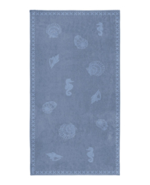 Seahorse Strandlaken Shells (jeans)