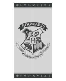 Harry Potter Strandlaken Hogwarts (grey)