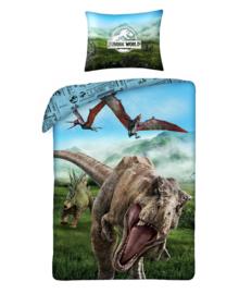 Jurassic World Dekbedovertrek Alert (multi) 140x200