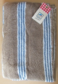Marieke at Home Natural Stripe (blue)