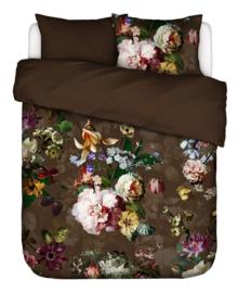 Essenza Dekbedovertrek Fleur (chocolate) 200x200/220