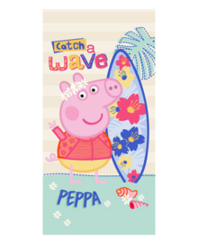 Peppa Strandlaken Catch a Wave (multi)