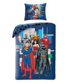 Justice League Dekbedovertrek Team (blue) 140x200