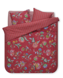 PiP Studio Dekbedovertrek Jambo Flower (red) 260x200/220