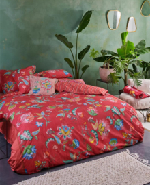 PiP Studio Dekbedovertrek Jambo Flower (red) 140x200/220