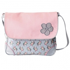 Stapelgoed Cross-over Bag Flower (pink)