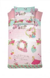 Cinderella Dekbedovertrek Buttercup (pink) 140x200