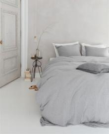 VT Wonen Jersey Dekbedovertrek Comfy (light grey) 140x200/220