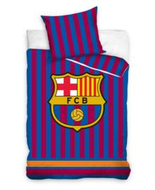FC Barcelona Dekbedovertrek Striped (red/blue) 140x200