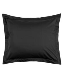 Essenza Kussensloop Satijn Katoen (black) 60x70