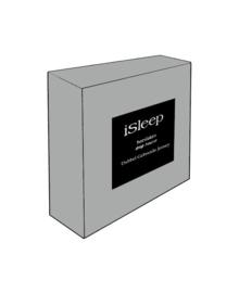 iSleep Hoeslaken Dubbel Jersey (grijs)