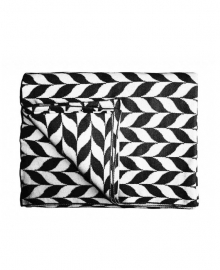Essenza Plaid Zepa (black/white)