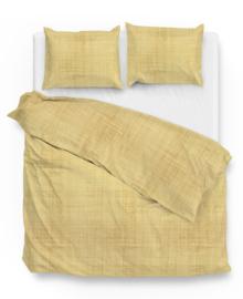 Zo! Home Dekbedovertrek Yvan (yellow) 200x200/220