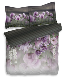Heckett & Lane Dekbedovertrek Jasmin (striking purple) 240x200/220