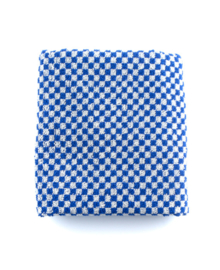 Bunzlau Castle Keukendoek Small Check (royal blue)