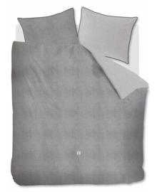 Riviera Maison Dekbedovertrek Gingham (grey) 240x200/220